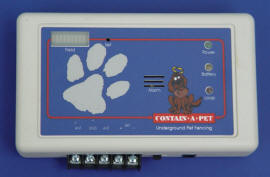 The Contain-A-Pet Transmitter does 0 to 50 ... Acres